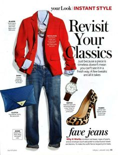 Fashion Friday: Seeing Red | elements of style | Bloglovin'