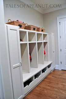 Building a Home - Mudroom Reveal by TalesofaPeanut