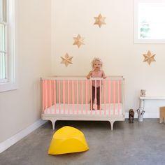 Pink Baby Cot Crib Toddler Bed Kalon Room