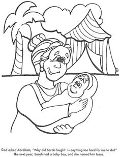 Printables with scenes from the story of Abraham