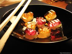 Gummy sushi?  uh, ok.
