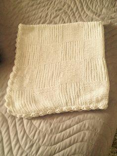 Torunum için ördüğüm battaniye ...