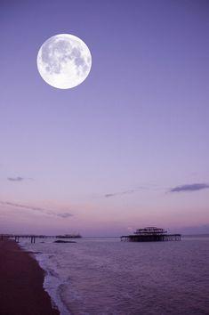 Beautiful Moon, Great Photos, Moonlight, Nature, Outdoors, Pretty, Twitter, Image, Naturaleza
