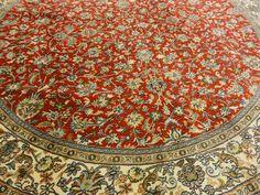 Kashmir Silk Teppich Gabbeh Handgeknüpfte alfombra oriental 181 x 181 cm