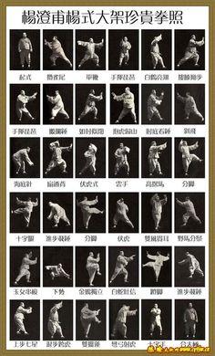 Master Yang Cheng-fu – Yang Style Tai Chi Chuan Form Sequence