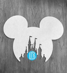 MOUSE CASTLE | Kids Decor - Party Decor - Home Decor - Baby Room - Boys Room Decor - Girls Room Decor - Custom - Glitter - Rhinestones - Disney - Mickey - Mickey Mouse - Disney Castle