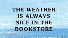 In case you needed another excuse to visit a bookshop..