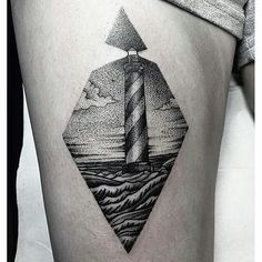1000+ ideas about Lighthouse Tattoos on Pinterest | Tattoos and body art, Ship Tattoos and Grey Tattoo
