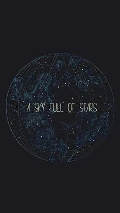 A Sky Full Of Stars #iPhone #8 #wallpaper