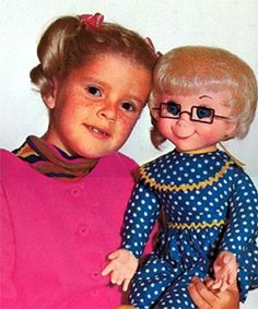 """Mrs. Beasley Doll from the tv show, """"Family Affair"""".  Remember Jody and Buffy, Uncle Bill, Cissy and Mr. French."""
