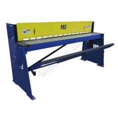 Mittler Brothers Kick Shear 72 inch 24 gauge capacity