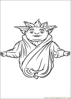rise of the guardians coloring pages | ... printable coloring page Rise Guardians 05 (Cartoons > Rise-guardians