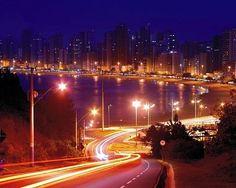 my city:  balneário camboriú SC BRAZIL   night view