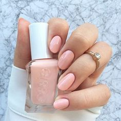 hello, I love you. just one glimpse of this creamy apricot pink sweeps me off my feet. introducing 'spool me over' from essie gel couture long-wear nail polish. it's an easy 2-step system. don't forget the top coat: lock in instant gel-like  shine on all gel couture shades with specially  formulated top coat. shop it here: http://www.essie.com/gel-couture/colors/Pinks/spool-me-over.aspx