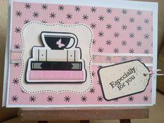 Especially for you!! Une petite carte pour réconforter.