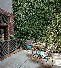 Jardim vertical - paisagismo.