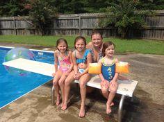 Morrisa, Karsyn, Payton & Abby Summer 2013