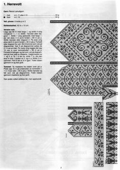 Scandinavian knit mittens love the people chain Knitted Mittens Pattern, Fair Isle Knitting Patterns, Knit Mittens, Knitting Charts, Knitted Gloves, Knitting Stitches, Knitting Designs, Knitting Socks, Knitting Projects