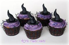 Halloween на Sees-All-Colors. Тортики и капкейки к празднику Donna Marsden