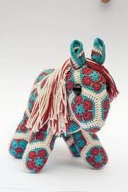 african flower crochet sheep - Google Search