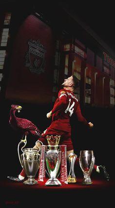 Liverpool Premier League, Liverpool Players, Liverpool Football Club, Liverpool Fc Wallpaper, Liverpool Wallpapers, Football Themes, Football Players, Henderson Liverpool, Liverpool Legends