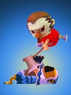 Animal Crossing Meets Hotline Miami - byVictor Castro