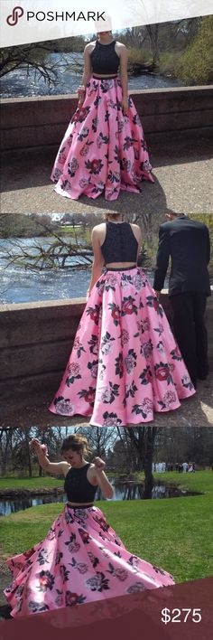 Beautiful Mori Lee prom dress, worn once. Beautiful prom dress, worn once. HAS POCKETS! I got so many compliments on this dress. It's a size 4. Mori Lee Dresses Prom