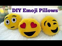 DIY Emoji Pillow - N