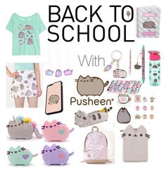 Pusheen by ms-kitty-cat on Polyvore featuring polyvore, fashion, style, Pusheen, clothing, contestentry and PVxPusheen