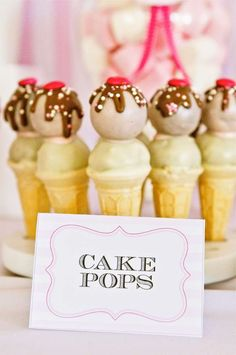 Ice - Cream! Birthday Party Ideas | Photo 7 of 13 | Catch My Party