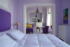 Purple People unite at the Bellevue Syrene hotel on the Amalfi Coast, Italy Modern Interior Design, Modern Decor, Interior Architecture, Bellevue Syrene, Bellevue Hotel, Hotel Palermo, Brown Hotel, Travel Hotel, Hotel Interiors