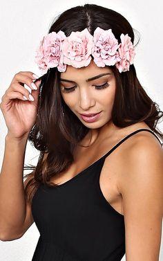 Lana #Floral Crown Headwrap