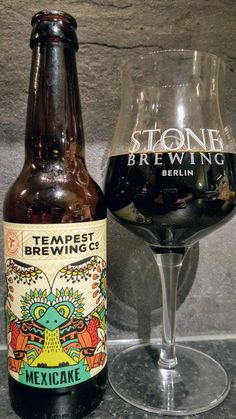 Tempest Mexicake Imperial Stout. Watch the video beer review here www.youtube.com/realaleguide #CraftBeer #RealAle #Ale #Beer #Beerporn #TempestMexicake #MexicakeImperialStout #Mexicake #TempestBrewingCompany #TempestBrewing #Tempest #BritishCraftBeer #BritishBeer