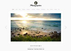 Photographer WordPress Theme - Organic Themes