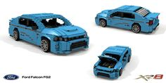 Ford Falcon FG XR8 Sedan (2008) Cool Lego, Awesome Lego, Ford Falcon, Ford Mustang Gt, Lego Vehicles, Bike, Cars, Bicycle, Autos