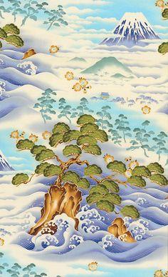 Nobu Fujiyama Journey - Glistening Mountain - Dawn Blue/Gold