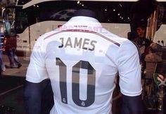 Ya se vende la camiseta 10 de Real Madrid de James Rodríguez - Goal.com