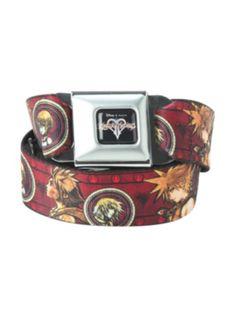 Disney Kingdom Hearts Seat Belt Belt. Please gimme!!