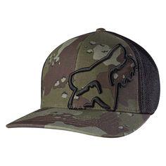 Fox Racing Men s Up Sleeve Flexfit Hat db651273c3b