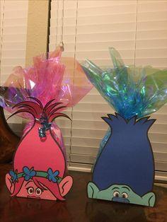Trolls party favor bags