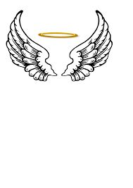 Image result for clip art angel wings