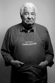 Antonio Carluccio (1937) - Italian chef, restaurateur and food expert, based in London. Photo by Katie Wilson