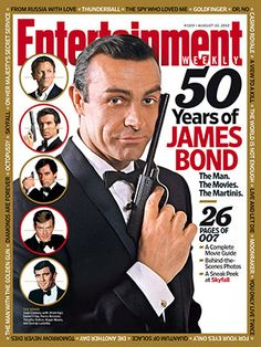 50 Years of James Bond, Entertainment Weekly, #007