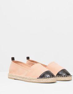 Pull&Bear - donna - scarpe da donna - espadrillas punta incisa - color carne - 11015011-V2015