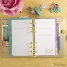 Free Planner Printables - Simple Theme - Personal Size Free Personal Size Planner Printable - Week on Two Pages. Simple design for Filofax, Kikki.K, and all personal sized planners. Kikki K Planner, Free Planner, Planner Pages, Printable Planner, Planner Tips, Happy Planner, Daytimer Planner, Free Printables, Planner Covers