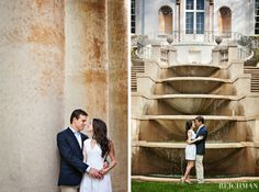 Alix and Andrew – Atlanta History Center Swan House Engagement Session » Reichman