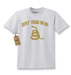 Vintage Don't Tread On Me Rattlesnake Gadsden Kids T-shirt