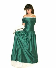 Vintage Christmas dress. 50s maxi off the by ChickClassique, $92.00