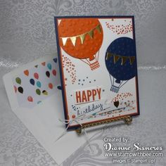 Happy Birthday by stamperdianne - Cards and Paper Crafts at Splitcoaststampers