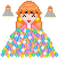 Lina's Candy (Slayers) http://mikaristar.deviantart.com/art/Lina-s-Candy-Slayers-399214953  Lina's Candy pixel details (Slayers) http://mikaristar.deviantart.com/art/Lina-s-Candy-pixel-details-399216643  Fantasy Bit: http://mikari.piratesboard.net Deviant Art: http://mikaristar.deviantart.com Art Grounds: http://artgrounds.com/gallery/Mikari/ Fanart Central: http://fanart-central.net/user/AzureMikari/ Anipan: http://anipan.com/21462